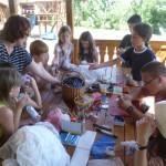 Kézműves program