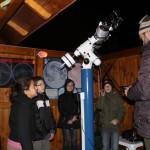 A csillagász szakkör tagjainak észlelési gyakorlata