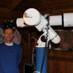 Grandpierre Attila csillagász is a csillagda vendége volt