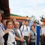 Debreceni és miskolci amatőrcsillagászok látogatása a csillagdában