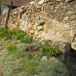 Szárazon rakott kőfal
