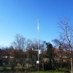 Meteorológiai állomás a Természet Háza kertjében