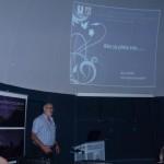 Igor Kudzej a csillagvizsgáló igazgatója előadását tartja