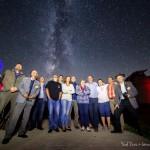 Csillagparti a csillagdánál - csillagoségbolt-parkhoz méltó ragyogó tejút alatt